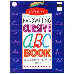D'Nealian Handwriting Cursive ABC Book | Oak Meadow School
