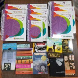 grade seven curriculum books