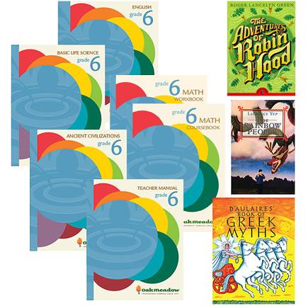 grade six curriculum books