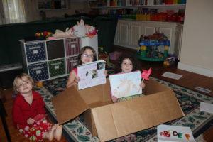 children with main lesson books