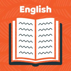 English subject icon
