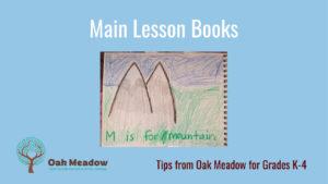 Main lesson book K-4 cover