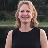High school teacher Rebecca Larkin