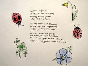 Oak Meaow student written poem ladybugs