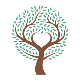 round Oak Meadow tree logo