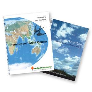 Oak Meadow homeschooling planners