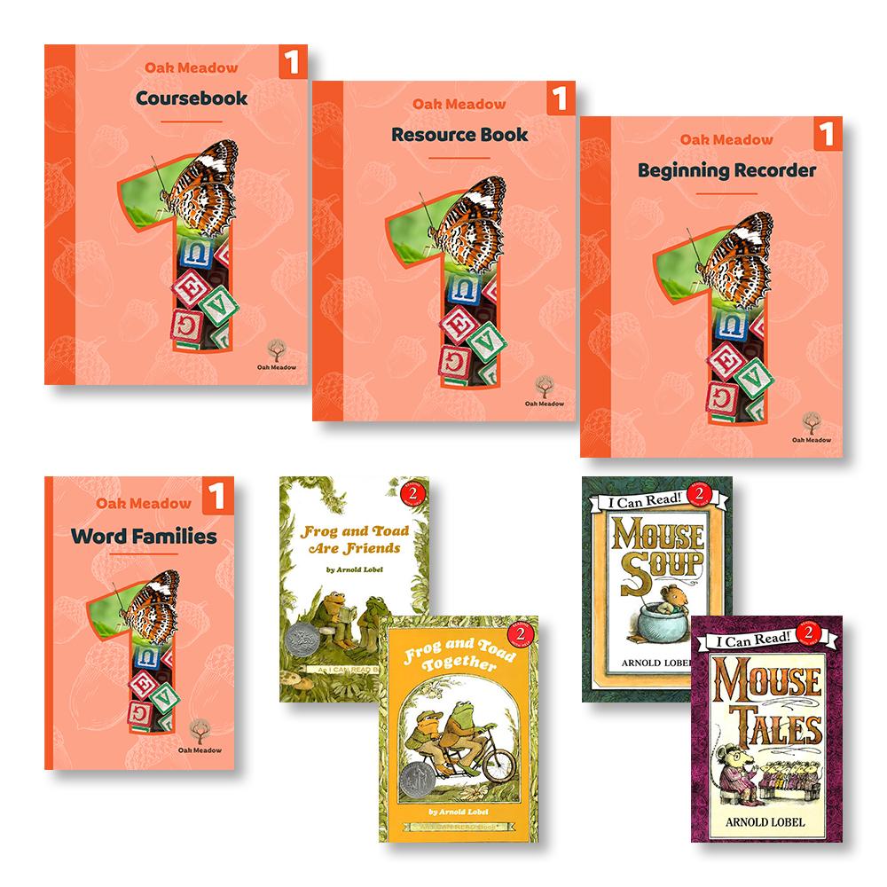 Oak Meadow 1st Grade Coursebooks | Oak Meadow Homeschool