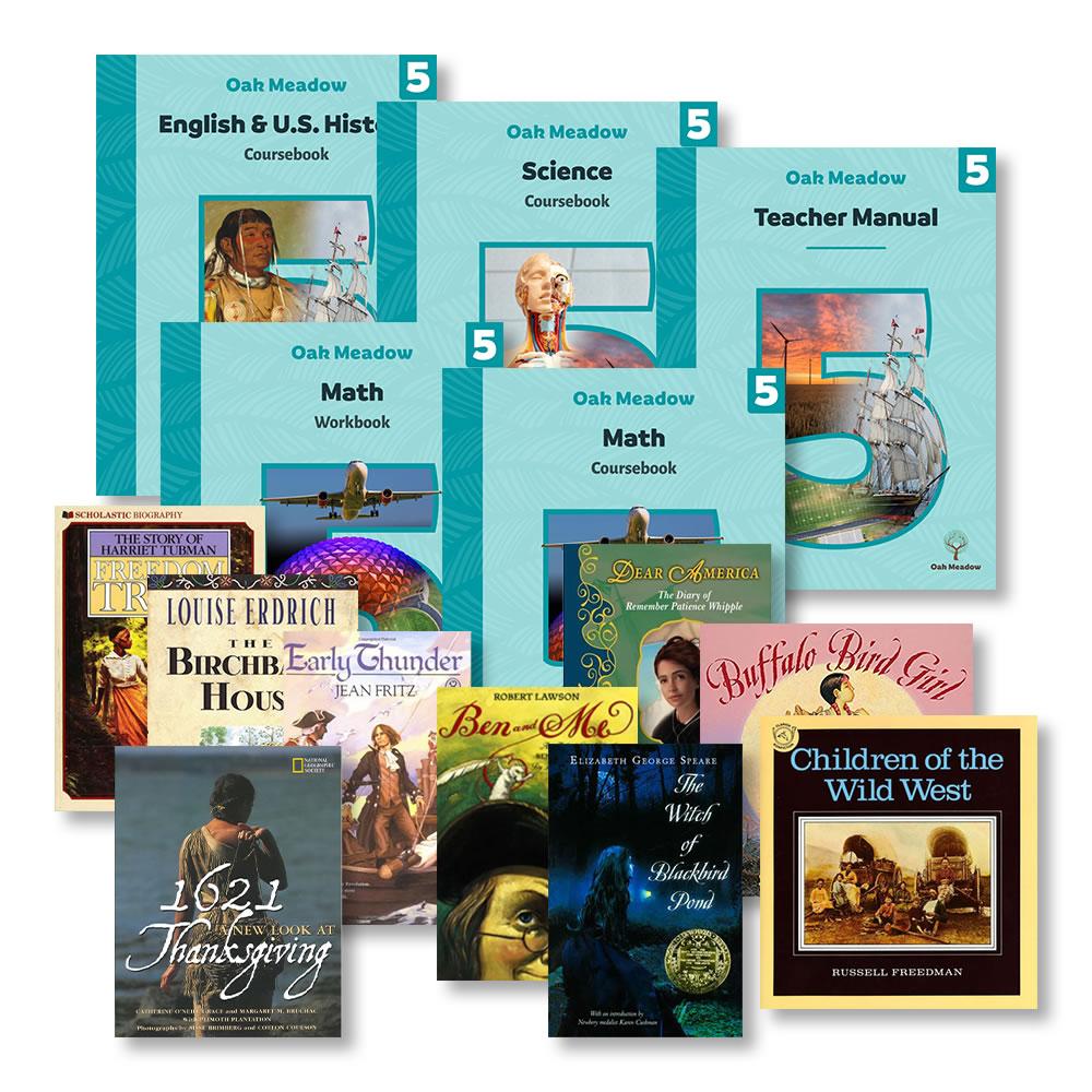 Grade 5 Package Image | Oak Meadow Bookstore